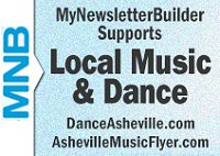 My Newsletter Builder Supports DanceAsheville.com and AshevilleMusicFlyer.com